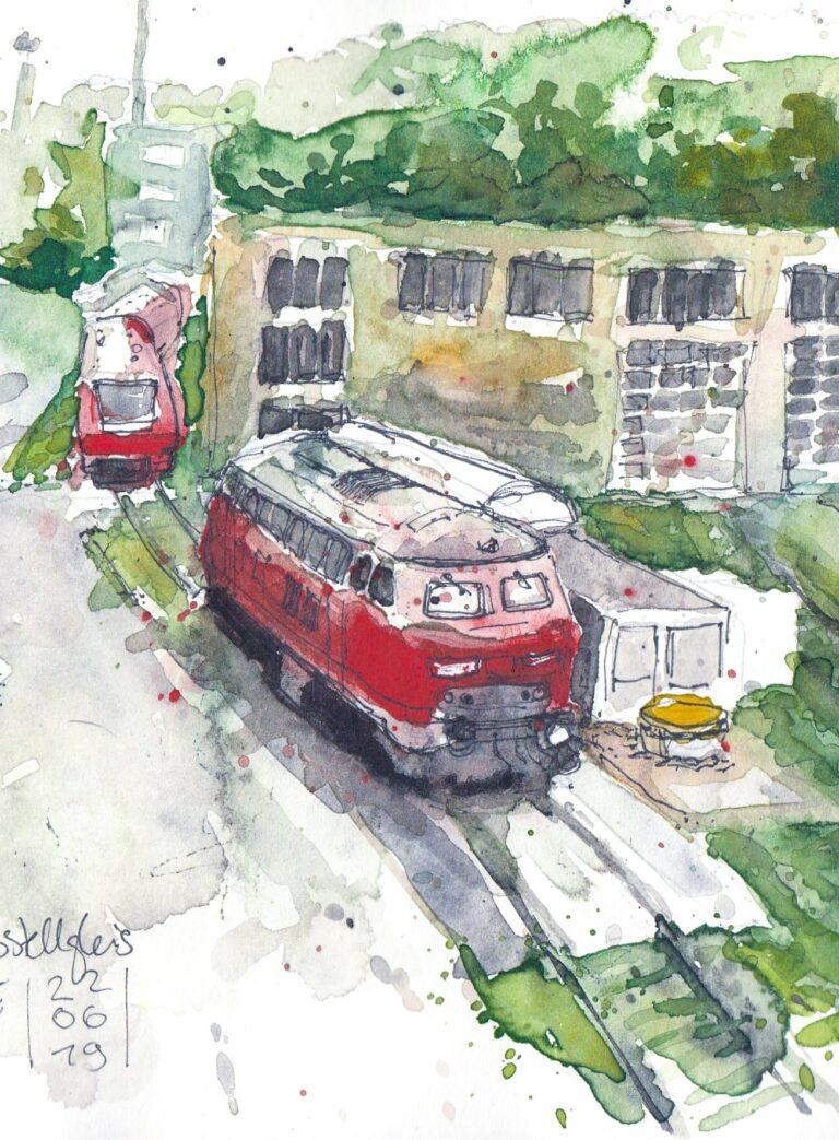 S 21 von Ulm aus gesehen